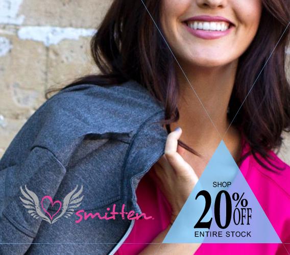 Shop Smitten brand uniforms, scrubs and accessories