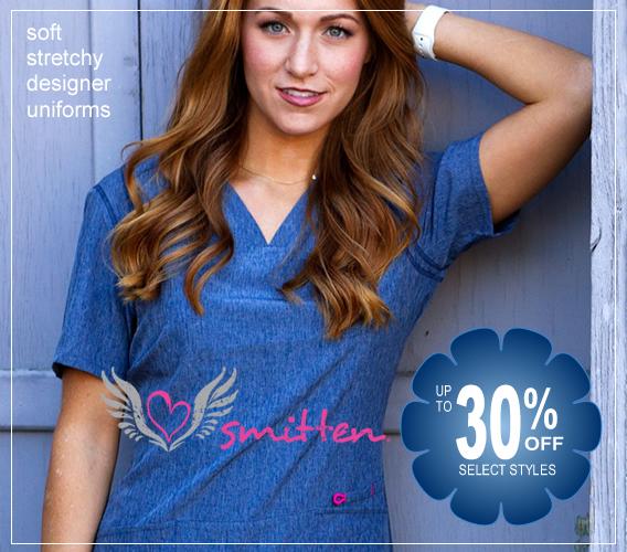 Smitten scrubs - up to 30% OFF