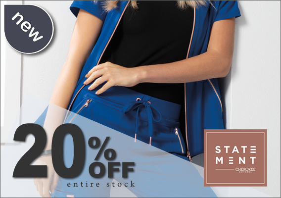 20% OFF Statement scrubs