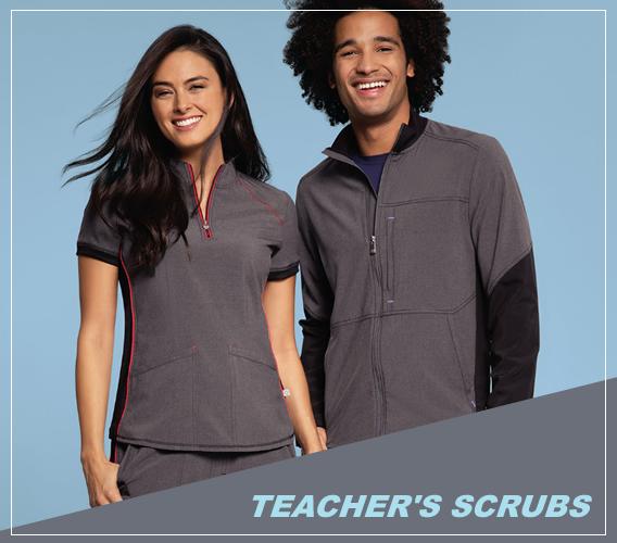 teachers scrubs - uniforms for teachers to wear in schools.