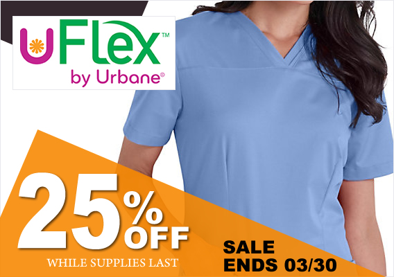 URBANE FLEX SCRUBS - UFLEX - 25% off WHILE SUPPLIES LAST!