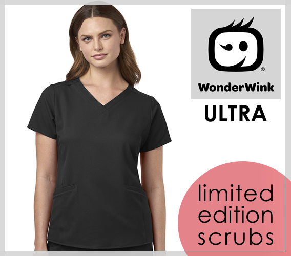 Wink Style Lab ULTRA scrubs - limited edition styles