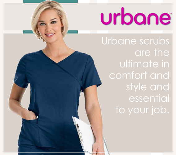 Urbane brand scrubs -  made for nurses, by nurses - shop and save on your new Urbane scrubs today!