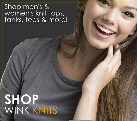 Shop Wink knit tops, tees, tanks and jackets for men and women. Shop our huge selection!