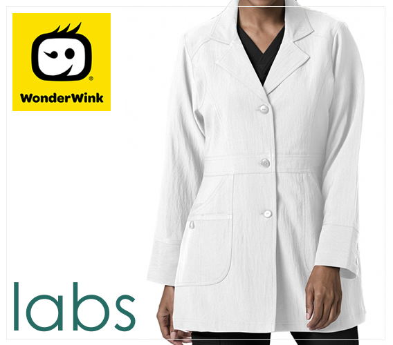 WonderWink brand lab coats (WONDERLAB)