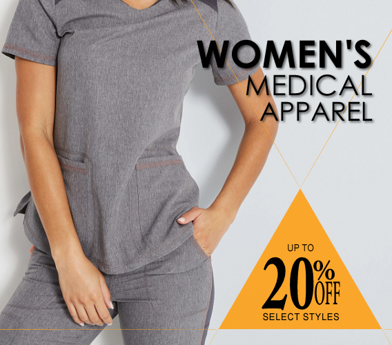 NEW Women's scrubs are here in all of your favorite brands. From Landau, Urbane and Smitten, To Cherokee, Dickies and Wink - We've got all of the best women's nursing scrubs at the best prices online!