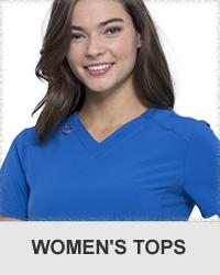 women's scrub tops