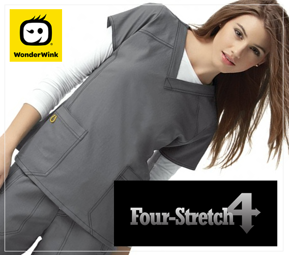 wonderwink four stretch scrubs - while supplies last