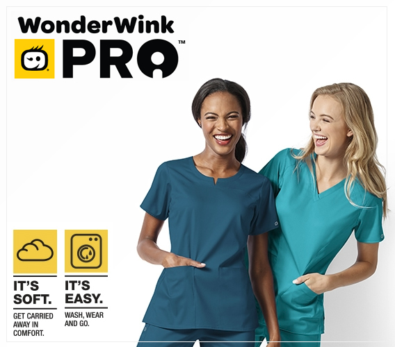 try new WonderWink Pro scrubs and get in style today!