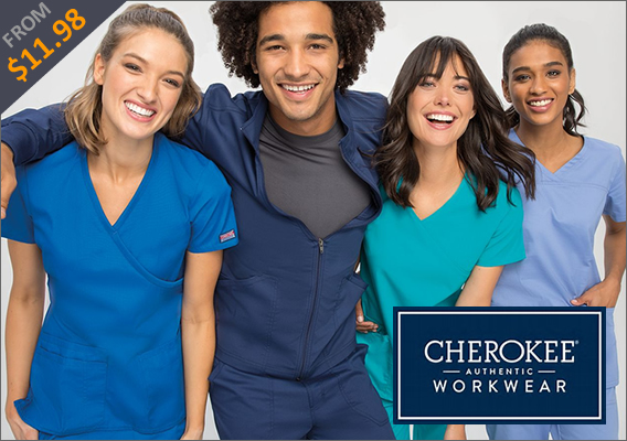 aurthentic cherokee workwear scrubs