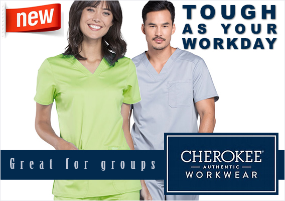 Popular brand - Cherokee Workwear Scrubs