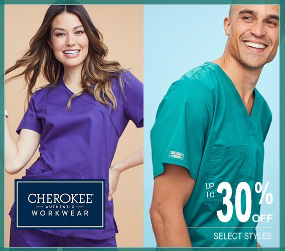 authentic cherokee workwear scrubs!