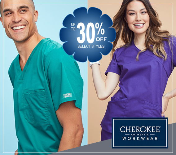 authentic cherokee workwear scrubs