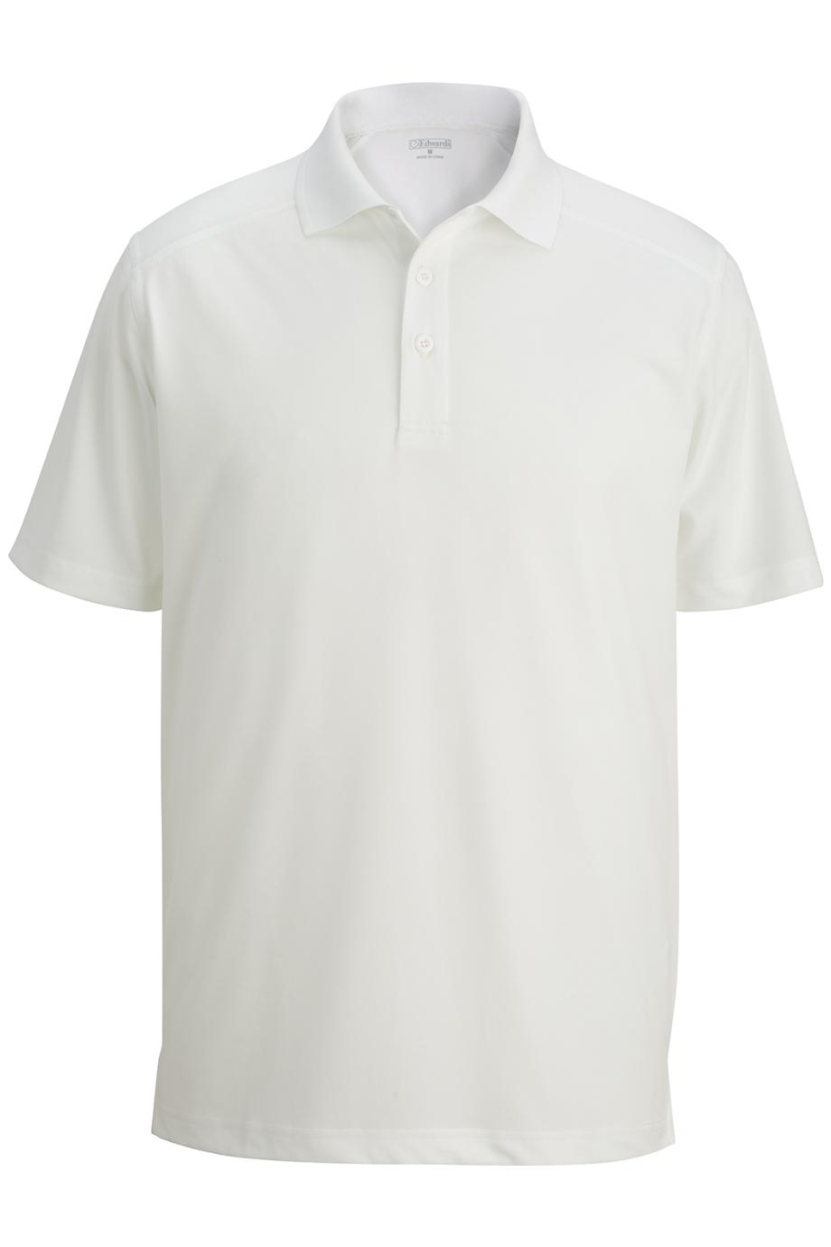 Edwards Mens SNAG-Proof Short Sleeve Polo Large Fern Green