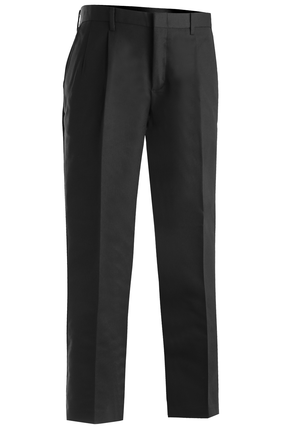 Mens Business Casual Pleated Chino Pant