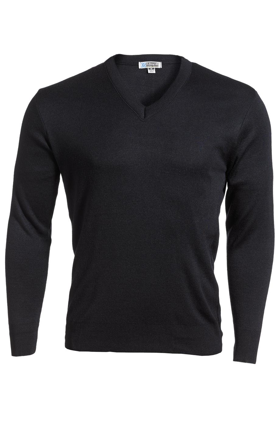Edwards Value V-Neck Acrylic Sweater-Edwards