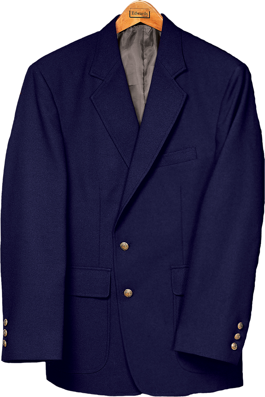 Edwards Mens Single-Breasted Blazer-Edwards