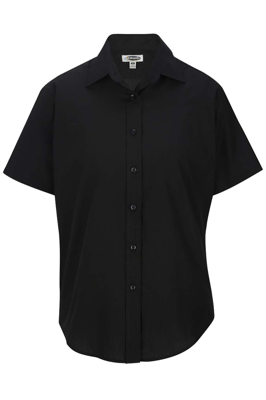6e32a96d Buy Edwards Ladies Short Sleeve Value Broadcloth Shirt - Edwards ...