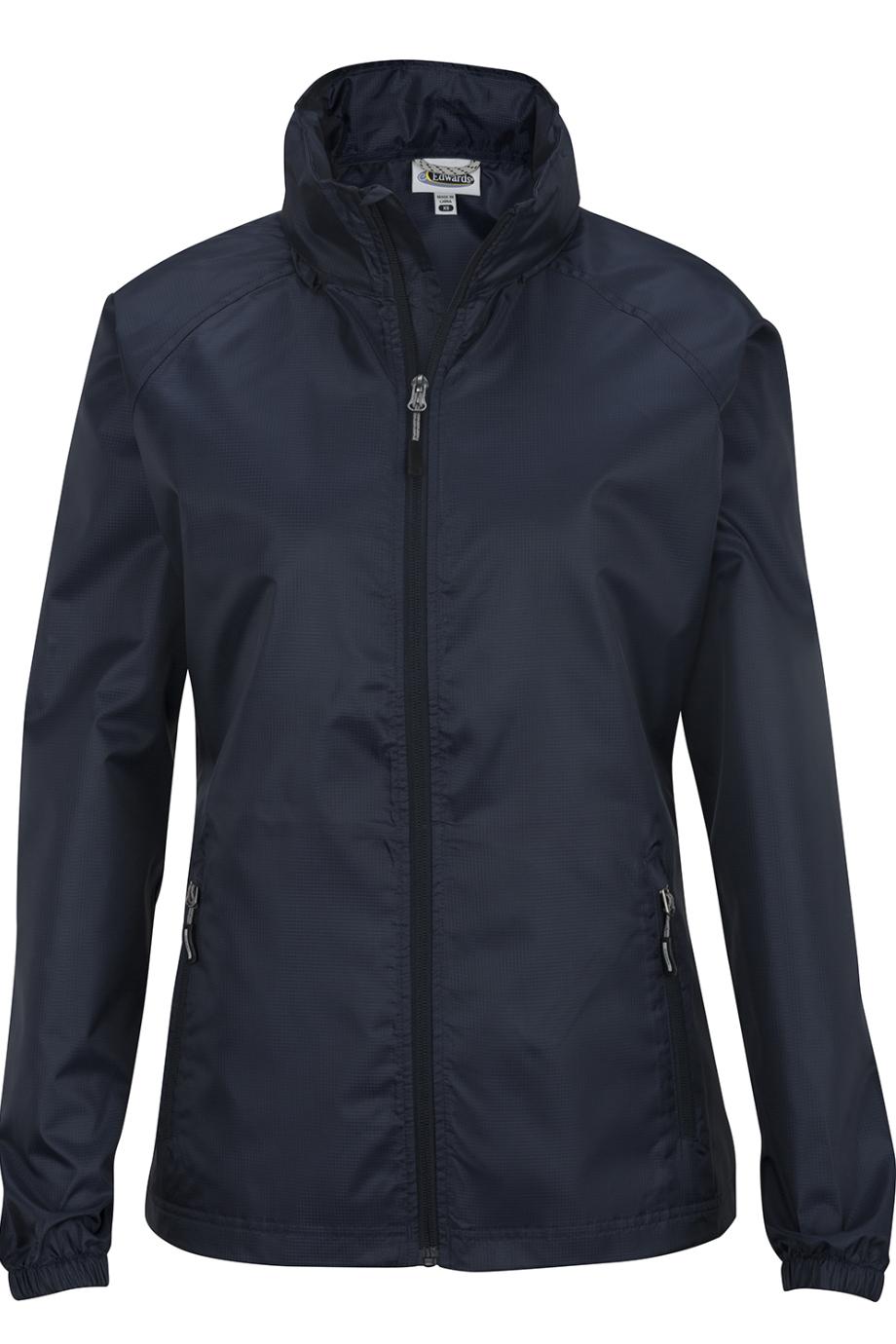 Edwards Hooded Rain Jacket - Ladies-Edwards
