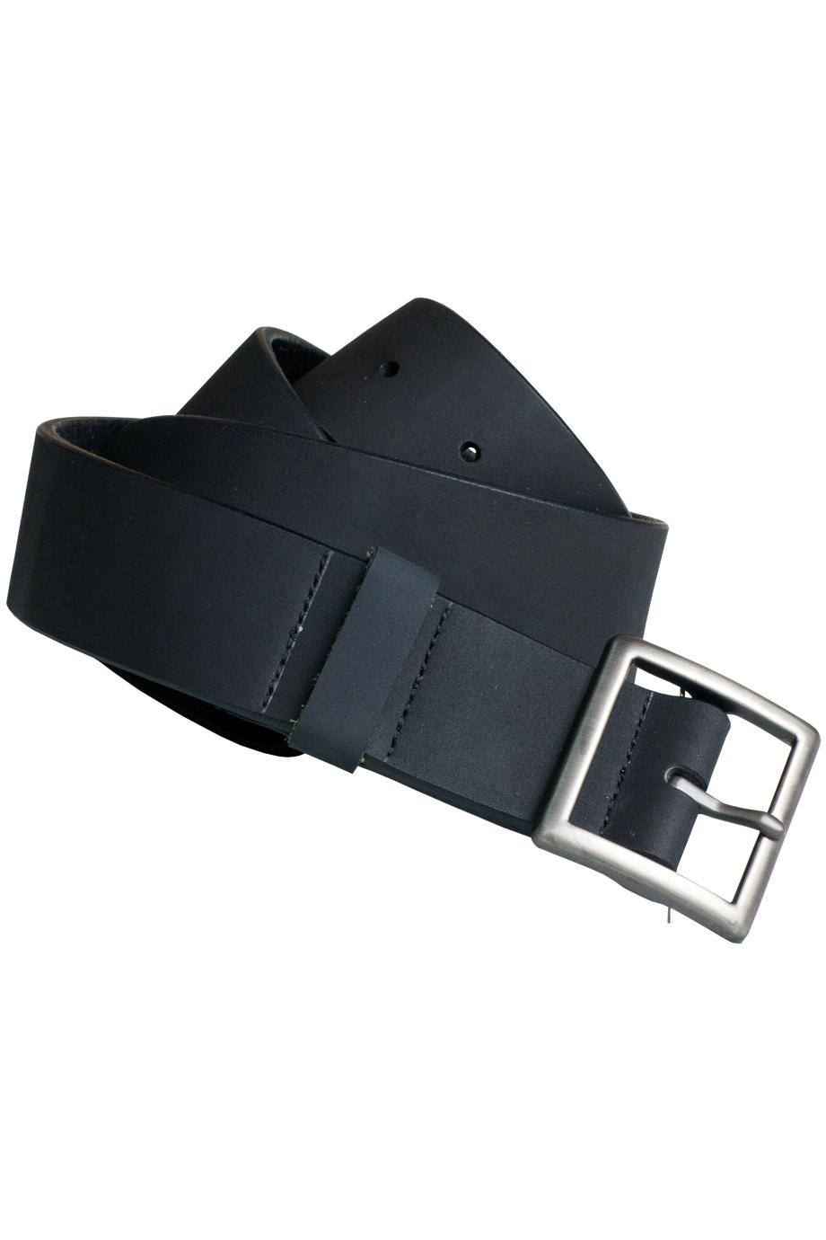 Men's Rugged Leather Garrison Belt-
