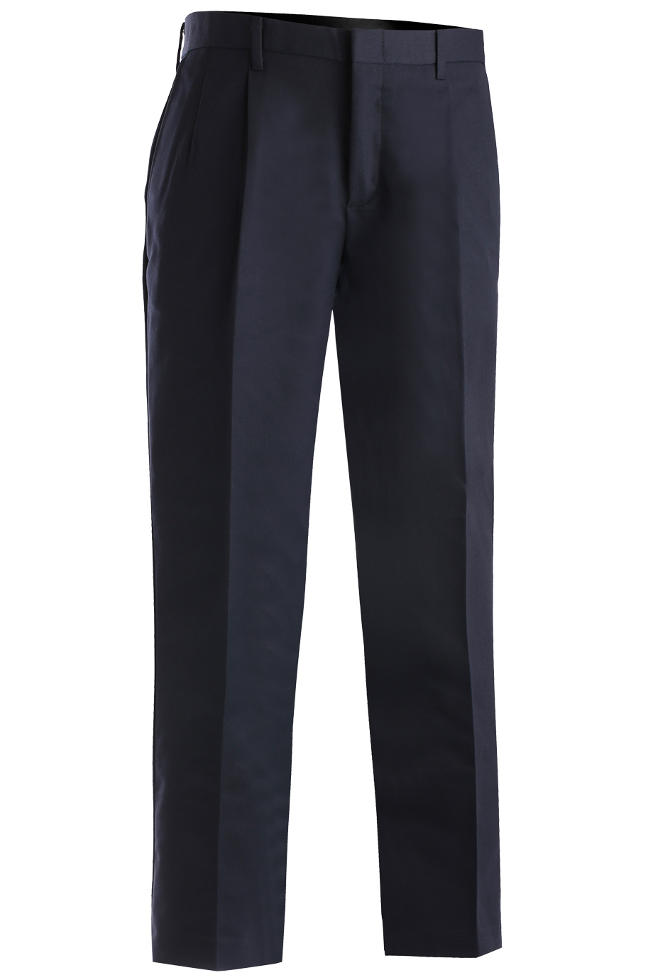 Edwards Mens Business Casual Pleated Chino Pant-Edwards