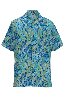 Edwards Tropical Leaf Camp Shirt-