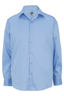 Edwards Mens Spread Collar Dress Shirt-Edwards