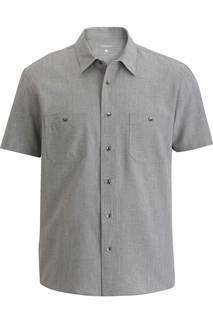 Edwards Mens Camp Shirt-