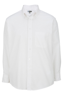 Edwards Mens Long Sleeve Oxford Shirt-Edwards