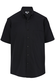 Edwards Mens Lightweight Short Sleeve Poplin Shirt-