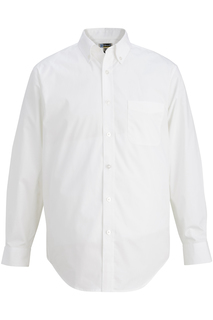 Edwards Mens L/S Stretch Poplin Shirt-