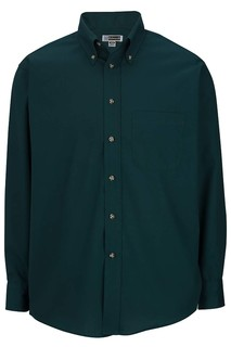 Edwards Mens Easy Care Long Sleeve Poplin Shirt-Edwards