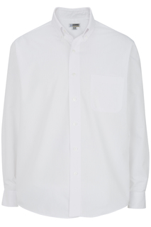 Edwards Mens Lightweight Long Sleeve Poplin Shirt-