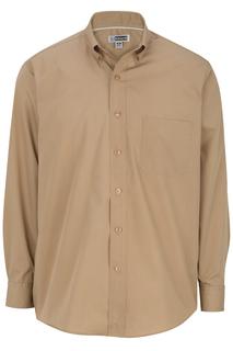 Edwards Mens Lightweight Long Sleeve Poplin Shirt-