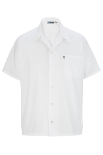 Edwards Hospitality Chef Apparel, Aprons,Shirts, Blouses, Polos & Camps Button Front Shirt-Edwards