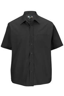 Edwards Mens Short Sleeve Value Broadcloth Shirt-