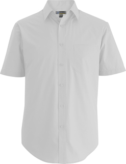 Edwards Mens Essential Broadcloth Shirt Short Sleeve-Edwards