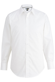 Edwards Mens L/S Stretch Broadcloth Shirt-Edwards
