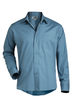 Edwards Mens Long Sleeve Value Broadcloth Shirt-Edwards