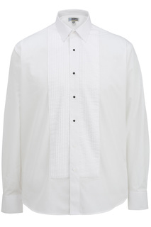 Edwards Mens Point Collar Tuxedo Shirt-Edwards