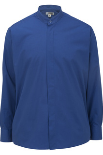 Edwards Mens Banded Collar Shirt-