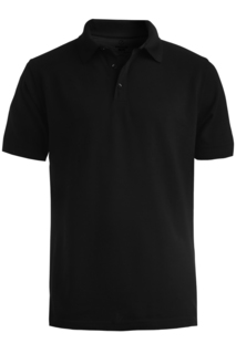 Edwards Cotton Pique Short Sleeve Polo-