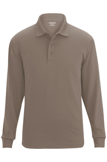 Edwards Unisex Snag Proof Long Sleeve Polo-