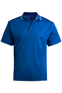 Edwards Unisex Hi-Performance Short Sleeve Mesh Polo-Edwards
