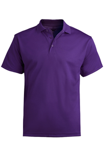 1576 Edwards Mens Hi-Performance Mesh Short Sleeve Polo