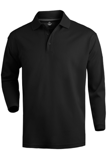 Edwards Hi-Performance Mesh Long Sleeve Polo-Edwards