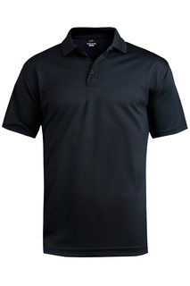 Edwards Mens Performance Flat-Knit Short Sleeve Polo-Edwards