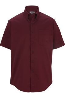 Edwards Mens Cottonplus Short Sleeve Twill Shirt-