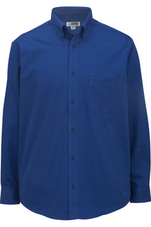 Edwards Mens Cottonplus Long Sleeve Twill Shirt-Edwards