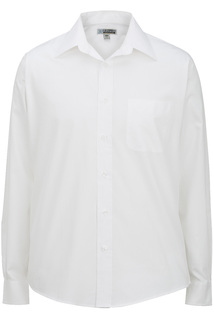 1965 Mens Long Sleeve Pinpoint Oxford Shirt-Edwards